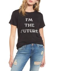 Daydreamer | Black I'm The Future Graphic Tee | Lyst