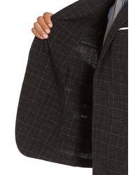 BOSS - Multicolor Nold Trim Fit Plaid Wool Blend Sport Coat for Men - Lyst