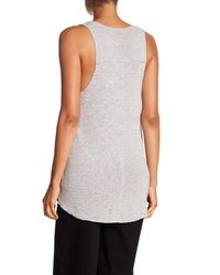 Project Social T - Gray Great Plains Sleeveless Top - Lyst