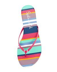 Splendid - Multicolor Madrid Thong Sandal - Lyst