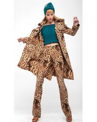 Norma Kamali   Multicolor Double Breasted Trench   Lyst
