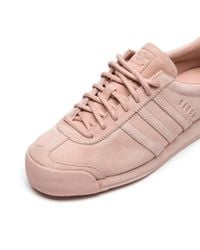 Adidas Originals - Multicolor Pigskin Samoa In Vapour Pink for Men - Lyst