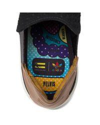Adidas Originals - Multicolor Pharrell Williams Slip-on In Core Black/granite for Men - Lyst