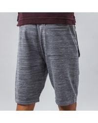 Nike - Gray Tech Knit Shorts In Grey for Men - Lyst