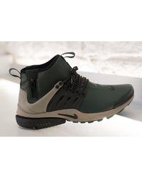Nike | Black Presto Mid Utility for Men | Lyst
