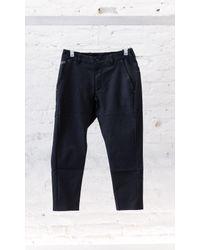 Nike | Black Bonded Cropped Pant for Men | Lyst
