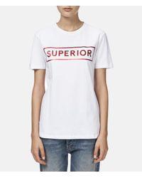 Être Cécile - White Superior T-shirt - Lyst