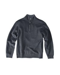 Raffi - Blue Extra Fine Merino Wool Quarter-zip Sweater for Men - Lyst