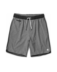 vuori - Gray Banks Shorts for Men - Lyst