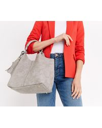Oasis - Gray Margo Tote - Lyst