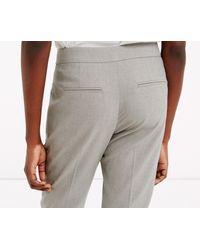 Oasis - Gray Clara Workwear Trouser - Mid Grey - Lyst