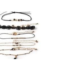 Oasis | Metallic 5 Pack Bracelet Set | Lyst