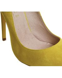 Office - Yellow On To Point Court Heels - Lyst