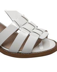 Office - White Wiley Geek Sandal - Lyst