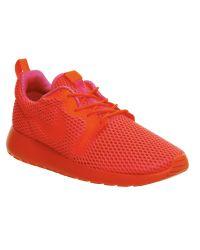 Nike - Red Roshe Run Natural Motion Prm Sneakers for Men - Lyst
