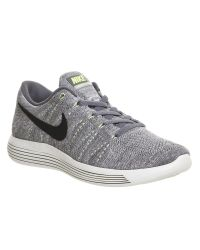 Nike | Gray Lunar Epic Flyknit Low | Lyst