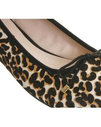Office - Multicolor Pony Square Toe Ballet - Lyst