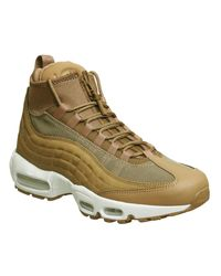 Lyst - Nike Air Max 95 Sneakerboots in White for Men 4114636f63a3