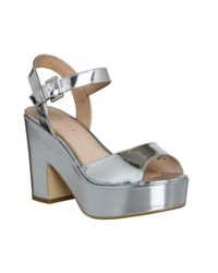 Office - Metallic Dauntless Sandals - Lyst