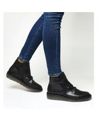 df45b25e2f27b8 Fly London Adit Ankle Boot in Black - Lyst