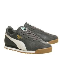 PUMA | Black Roma for Men | Lyst