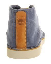 Timberland | Blue Ek Handcrafted Wedge Chukka for Men | Lyst