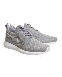 Nike - Black Flyknit Roshe Nm for Men - Lyst