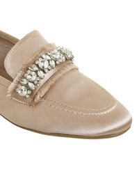Office - Natural Finders Keepers Gem Trim Loafers - Lyst