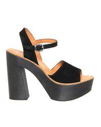 Office - Black Porter Chunky Heel Sandal - Lyst