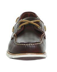 Timberland - Red Tidelands 2 Eye Boat Shoes for Men - Lyst