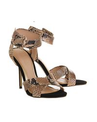 Office - Multicolor Solo Single Sole Sandal - Lyst