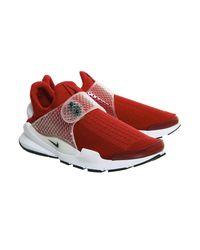 Nike - Red Sock Dart - Lyst