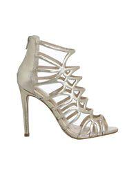 Office - Metallic Archer Strappy Heels - Lyst