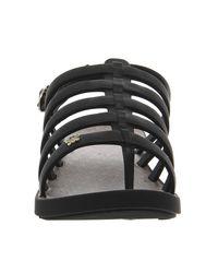 Zaxy - Black Fresh Sandal - Lyst