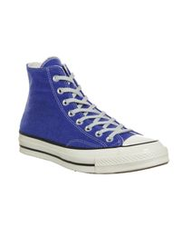 Converse | Blue All Star Hi 70's for Men | Lyst