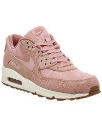 Nike - Pink Air Max 90 - Lyst