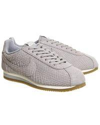 Nike - Gray Classic Cortez Og for Men - Lyst
