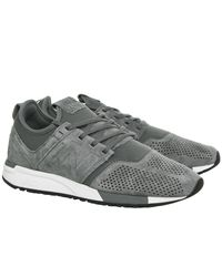 New Balance - Gray 247 Trainers - Lyst