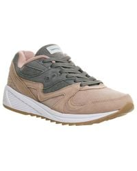 ab3317488f74 Lyst - Saucony Grid 8000 in Gray for Men