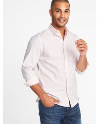 2bb6dee220f Lyst - Old Navy Slim-fit Built-in Flex Everyday Oxford Shirt for Men