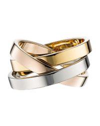 Vita Fede - Metallic Tre Cassio Ring - Lyst
