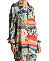 Chufy - Multicolor Trippin Dolman Blouse - Lyst