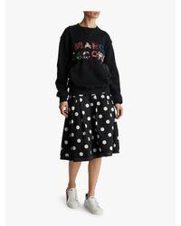 Marc Jacobs - Black Lux Embellished Sweatshirt - Lyst