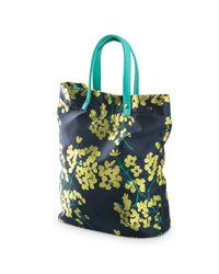 Oliver Bonas - Multicolor Floral Jacquard Shopper Bag - Lyst