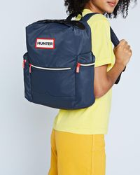 Hunter Blue Original Top Clip Backpack - Nylon