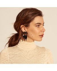 Lele Sadoughi - Multicolor Dangling Ivy Earrings - Lyst