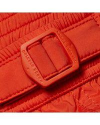 Orlebar Brown Red Setter Sport Kürzere Badeshorts Flame for men