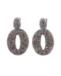 Oscar de la Renta | Metallic Oscar O Earrings | Lyst