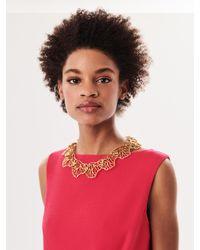 Oscar de la Renta - Metallic Coral Branch Collar Necklace - Lyst