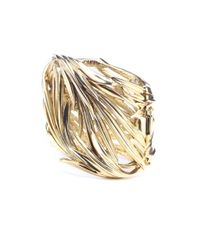Oscar de la Renta - Metallic Knotted Multi-strand Bracelet - Lyst